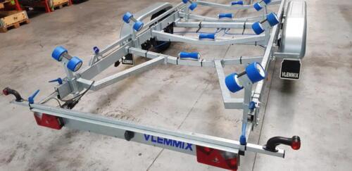 V-konstruktion til bådtrailer