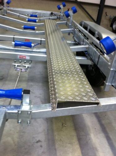 gåplanke i aluminium 3 m